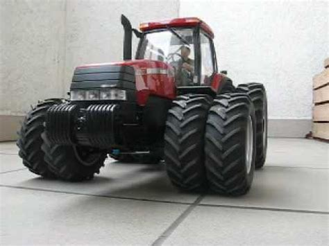 Case MX270 RC tractor - test drive on duals - YouTube