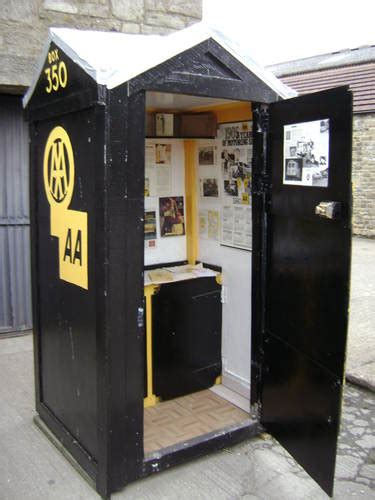 2017 AA Automobile Association Inspired Telephone Box For