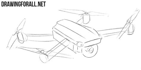 How to Draw a Quadcopter | Drawingforall