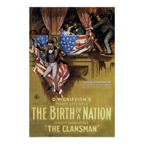 The Birth Of A Nation 1915 Poster   Zazzle