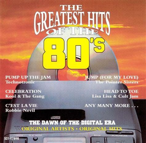 The Greatest Hits of the '80s, Vol