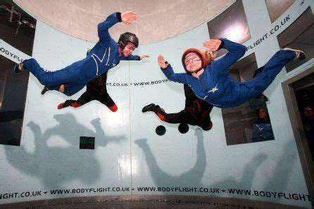Indoor Skydiving Taster for Two at Bodyflight £39   Indoor
