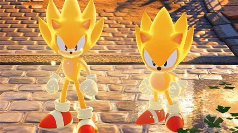 Sonic Forces - Modern & Classic Super Sonic Gameplay