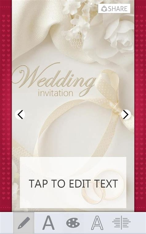 Wedding Invitations Card Maker for Android - Free download